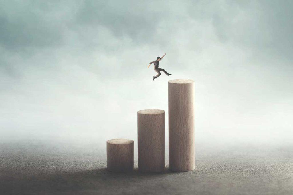 トップに躍り出る大きな成功