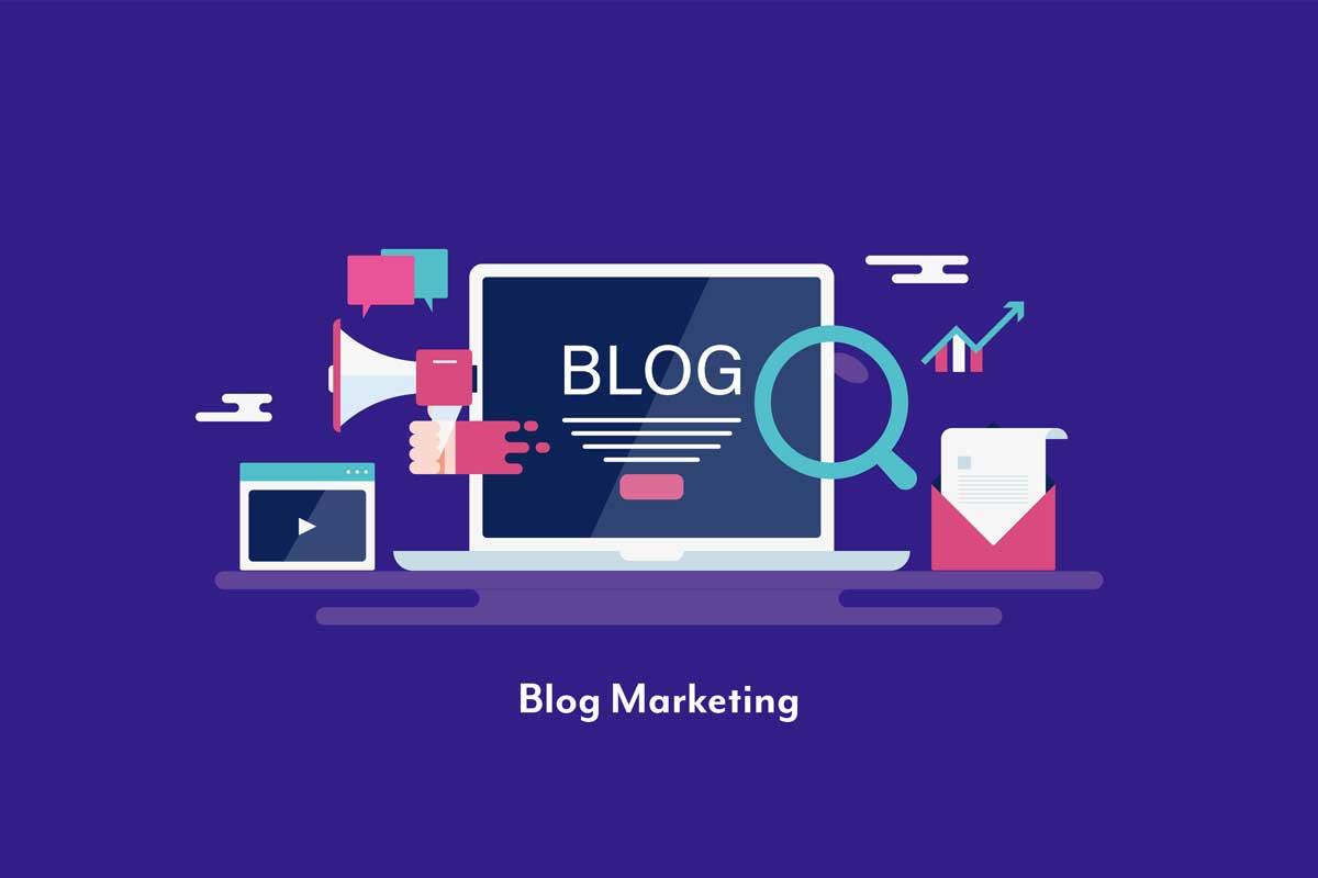 ブログ広告のイラスト