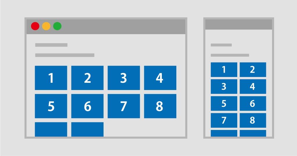 画質/小さすぎる画像や低解像度の画像を使用しないを表す図