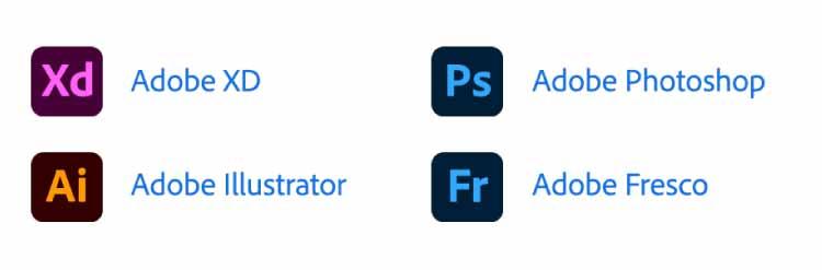 Adobeアプリケーション