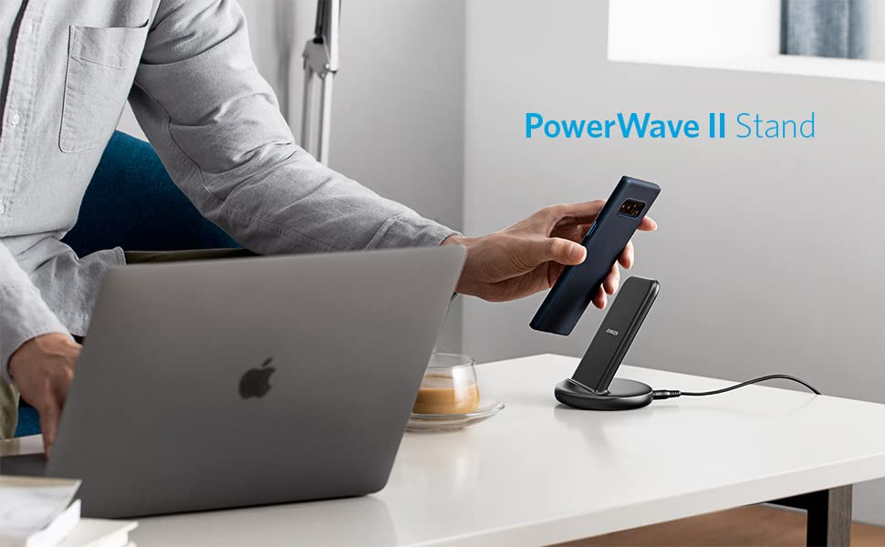 Anker PowerWave II Stand ワイヤレス充電器