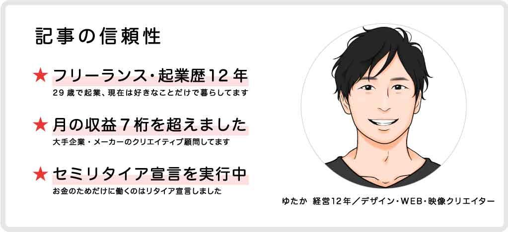 ゆたか 経営12年/デザイン・WEB・映像クリエイター